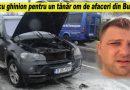 Patron de pizzerie și restaurant din Buzău cu BMW-ul în flăcări. Iată cui aparținea mașina