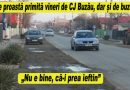 EXCLUSIV. Ce se întâmplă cu asfaltarea șoselei de la Buzău prin Mărăcineni, Săpoca, Cernătești, Beceni și V. Vodă