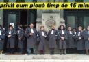 Azi, în fața Tribunalui Buzău. Protest cu robe și banderole albe