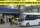 """Probleme pentru maxi taxi 10M. """"E pentru prima dată când ni s-a întâmplat"""""""