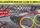 EXCLUSIV! Vești proaste dinspre noul pod de la V. Pașii după viitura de pe râul Buzău. Pagube mari