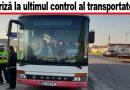 Au fost controlate inclusiv autobuzele Trans-Bus. Reclamație de ultimă oră venită de pe alt traseu