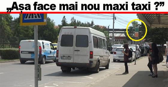 """VIDEO. """"Maxi taxi a stat aproape 3 minute în stație. A plecat doar când a venit autobuzul"""""""