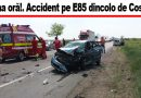"""""""A adormit la volan. Șoferul nici nu știa ce s-a întâmplat"""""""