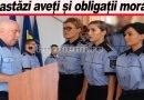 Iată ce le-a cerut Pantazi noilor polițiști. VIDEO