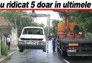 Iată ce riscă proprietarii mașinilor abandonate de cel puțin un an. Acțiune comună Poliția Locală – Urbis Serv