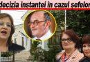 """ULTIMA ORĂ! Tudorancea, avocatul trioului Stoian, Palcău, Wamsiedel: """"S-a demonstrat că a fost o decizie politică"""""""