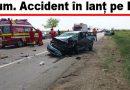 Patru autoturisme. Șapte victime din care trei copii