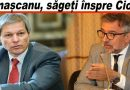 """""""Cioloș n-a văzut decât o latură în disprețul situației complicate a României"""". Iată motivul criticii buzoianului"""