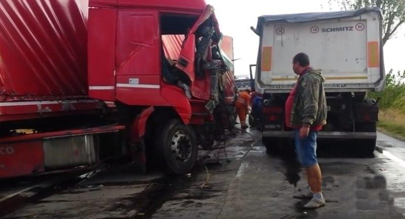 Ultima ora. Impact tir – camion