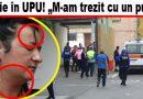 UPU evacuat după ce s-a dat cu spray paralizant
