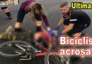 Biciclist inconștient pe carosabil. Iată unde s-a întâmplat