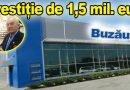 Investitor buzoian, 34 noi locuri de muncă. Toma a venit azi la inaugurare