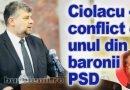 """Ciolacu: """"Are invidie pe mine și pe județul Buzău"""""""
