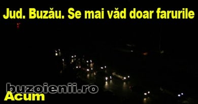 Defecțiune majoră. 18 comune din Buzău sunt afectate