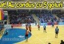 Frustrare la finalul meciului  HC Buzău – Minaur B. Mare