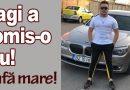 Copilul e lovit rău la cap și e în drum cu ambulanța spre București