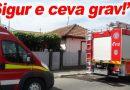 """N-au trecut doar pompierii cu sirenă și girofar, ci și ambulanța!"""